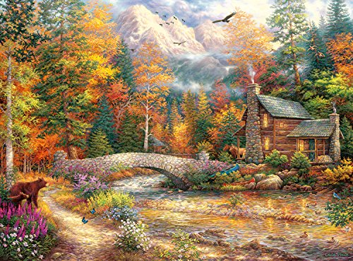 Buffalo Games – Chuck Pinson Escapes – Call of the Wild – 1000 Piece Jigsaw Puzzle