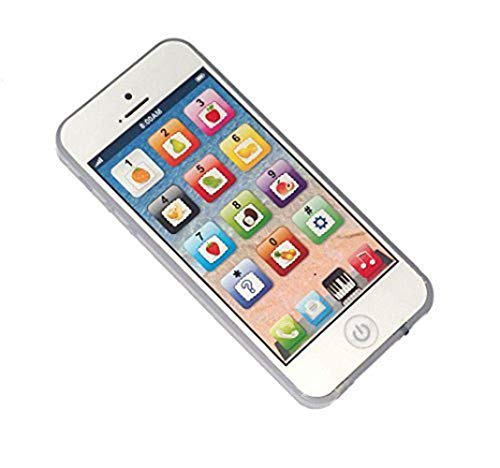 YOYOSTORE Child's Interactive My First Own Cell Phone – Play to learn, touch screen with 8 functions and dazzling LED lights. by Heaven? Beauty