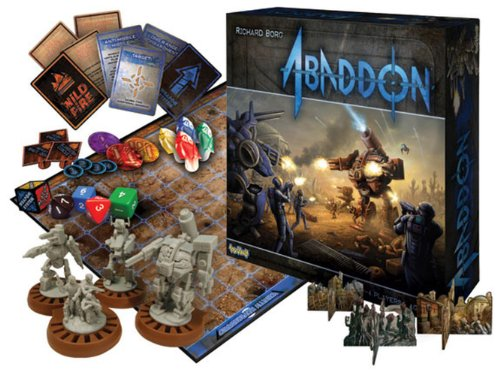 Abaddon Board Game by Richard Borg