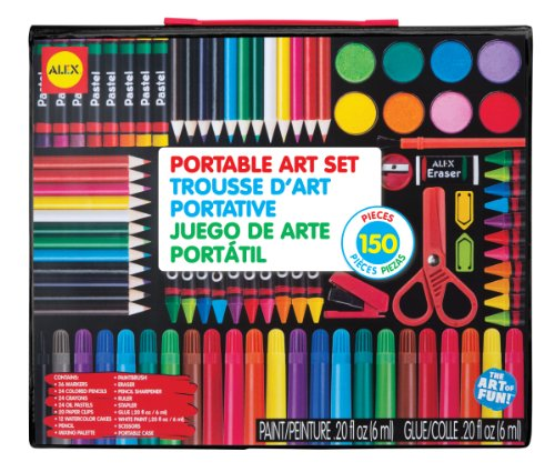 Alex Portable Art Set Kids Art Supplies