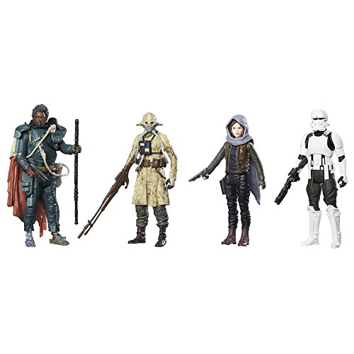 Star Wars: Rogue One Jedha Revolt Action Figure 4-Pack