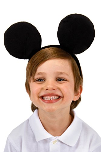 elope Disney Mickey Mouse Costume Ears Headband for Kids and Adults
