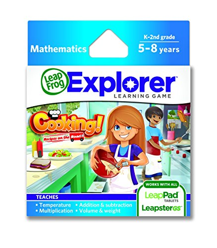 LeapFrog Cooking Recipes On The Road Learning Game (works with LeapPad Tablets and Leapster GS)